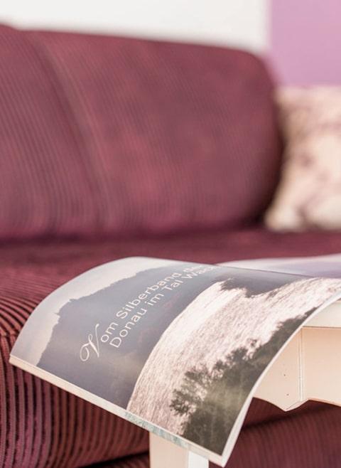 Detailufnahme Genießerzimmer Barock im Hotel zur Post Melk