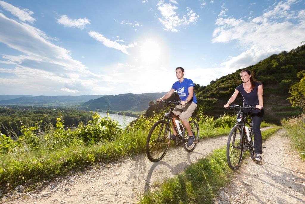 E-Mobilität in der Wachau - (c) Donau Niederösterreich - Gerald Lechner