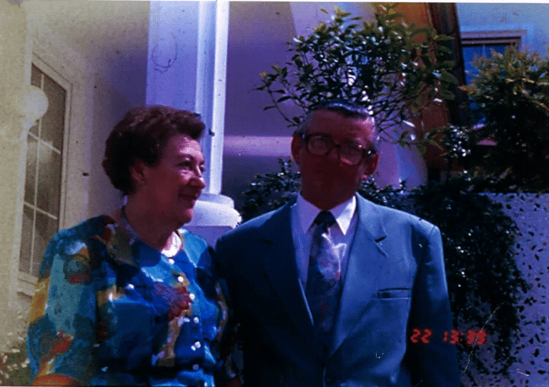 Theresia u. Friedrich Ebner 1991